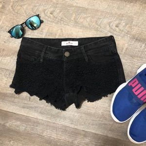 Hollister Shorts - Hollister Black Cheeky Shorts